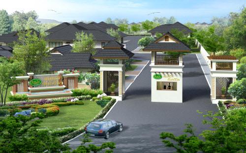 บ้านจัดสรรเชียงใหม่ - หมู่บ้านจัดสรรสมหวังอินทาวน์